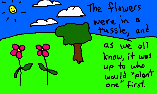 Flower Fight